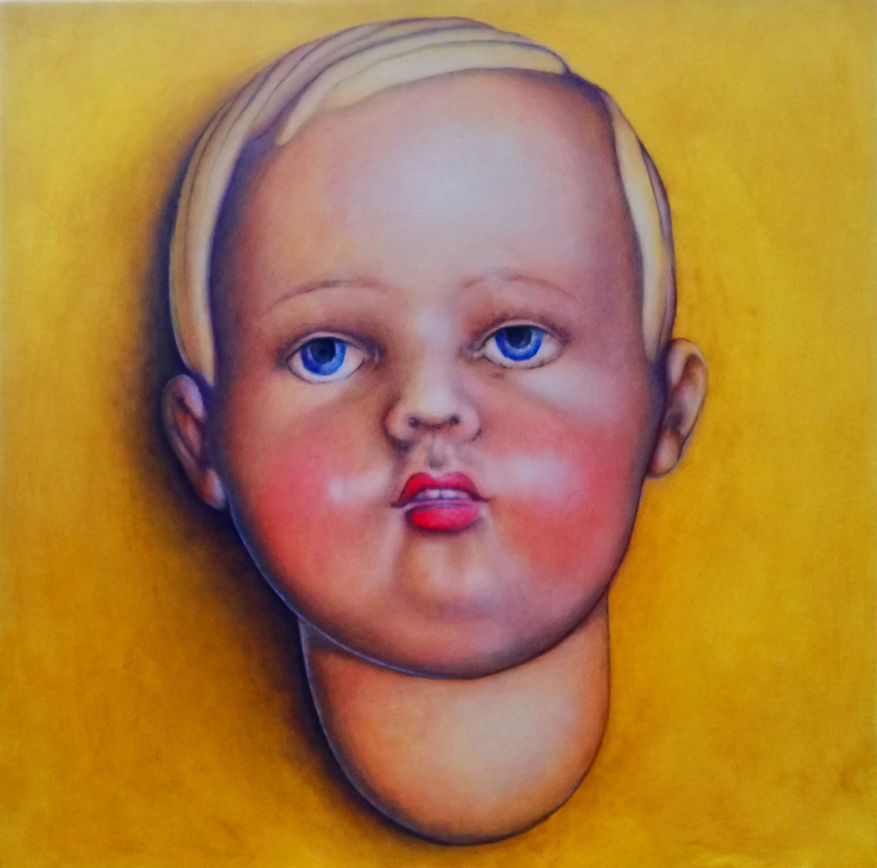acrylic on canvas <br/> 50 x 50cm <br/> £395